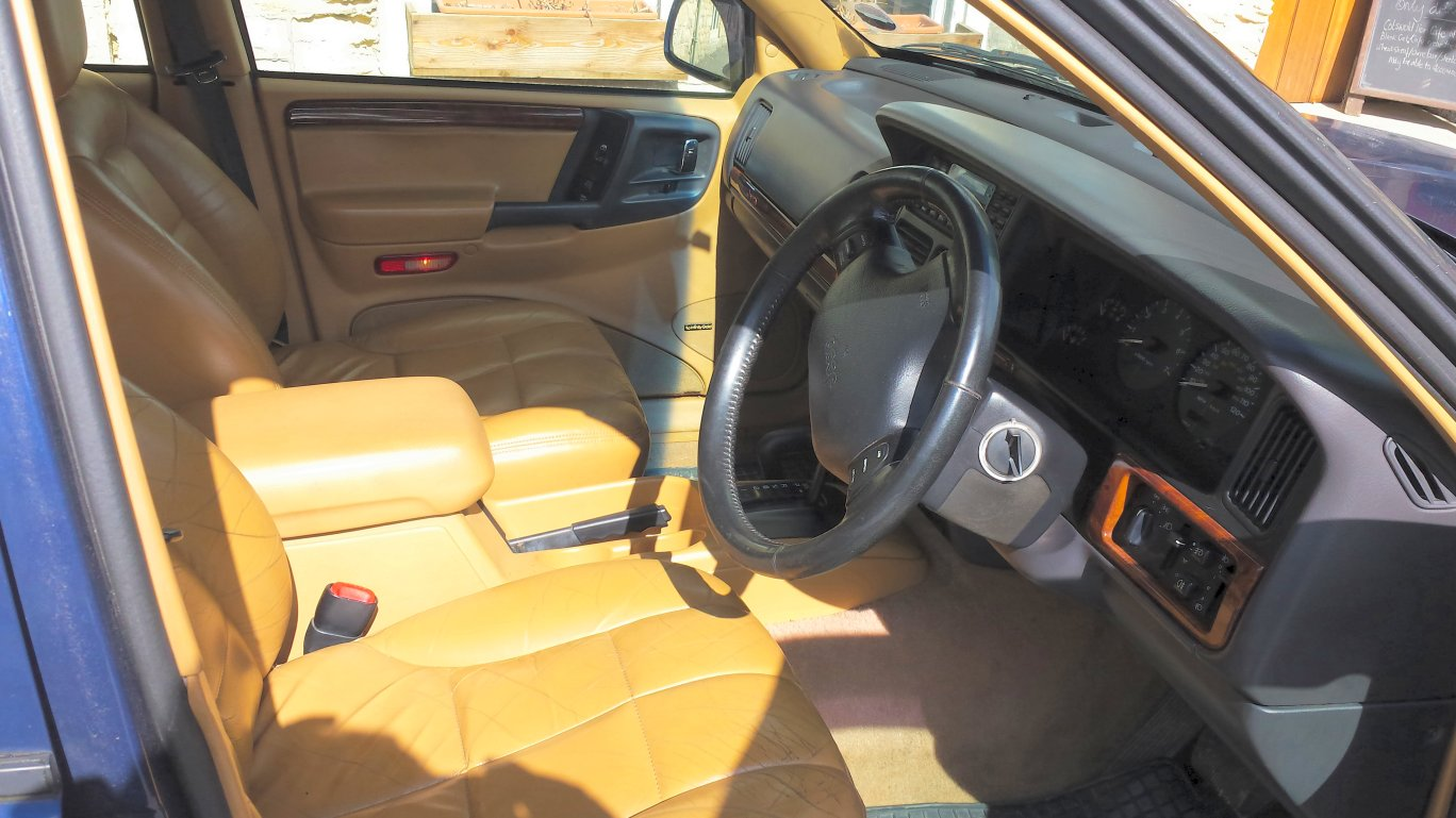 1996 N Jeep Grand Cherokee Limited 4 Litre Automatic Leather Interior High Spec Ebay